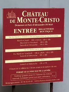 OUVERTURE MONTE-CRISTO ACCUEIL