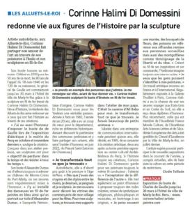 1150 Courrier des Yvelines Article Presse CHDD 03 03 2021 -