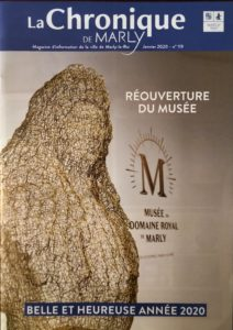 La Chronique de Marly Journal JANVIER 2020 SCULPTURE lOUIS XIVème CHDD