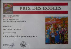 Prix des Ecoles Morainvilliers