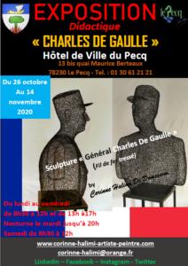 SCULPTURE C. DE GAULLE 2020